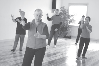benefits of Tai chi; movements help maintain strength, flexibility and balance