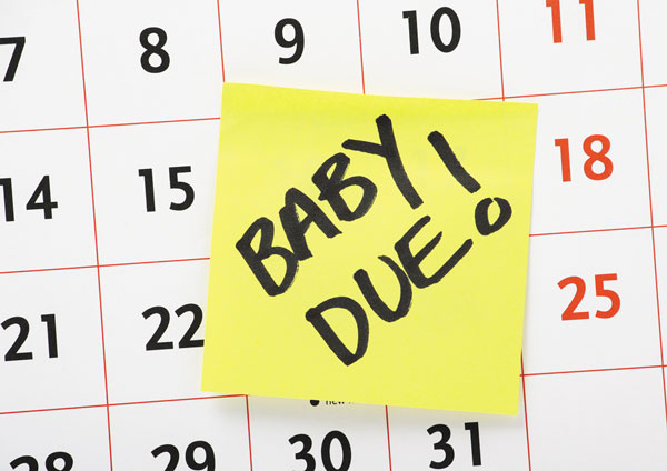 labor induced baby pregnancy due date