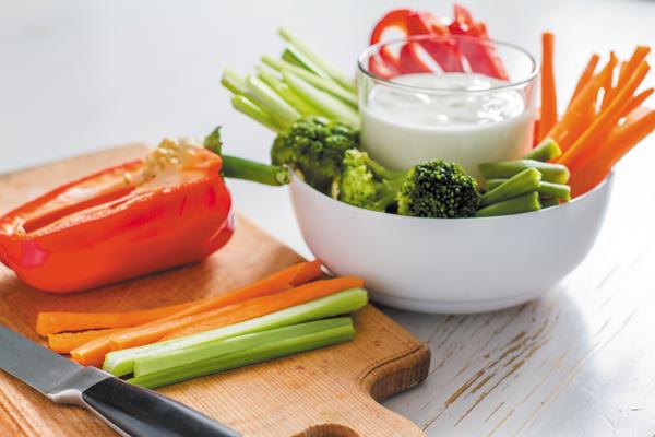 vegetables, healthy snack, healthy eating
