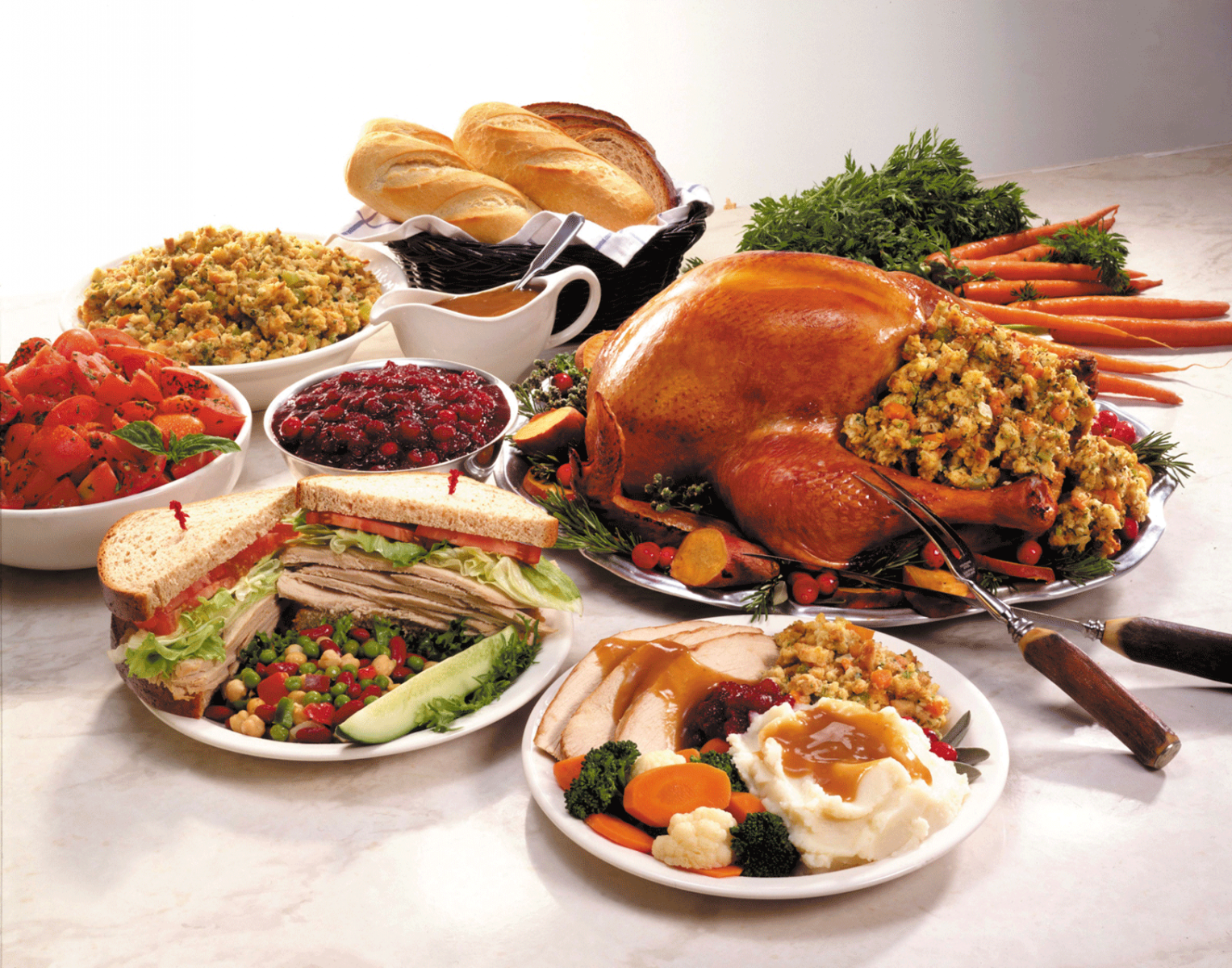 holiday-eating-buffet-turkey
