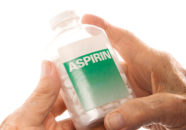 stop heart attack with aspirin