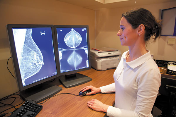 mammogram heart disease risk