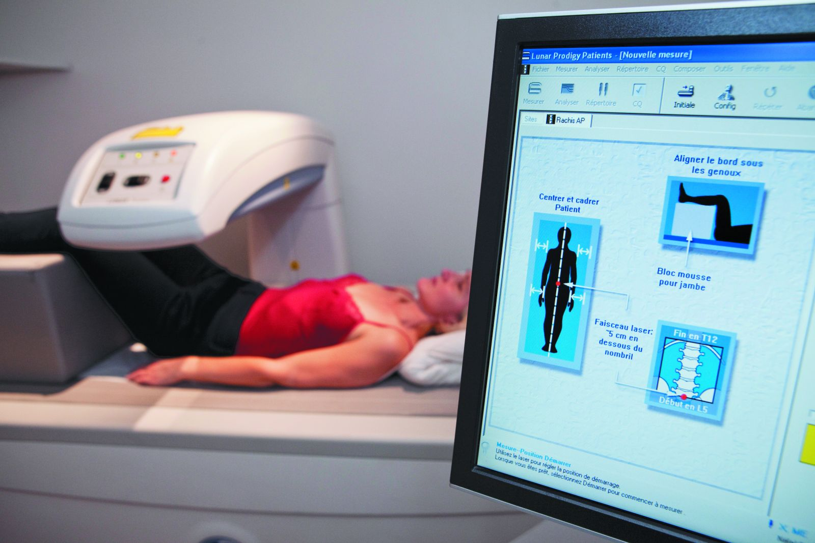 DEXA bone density scan