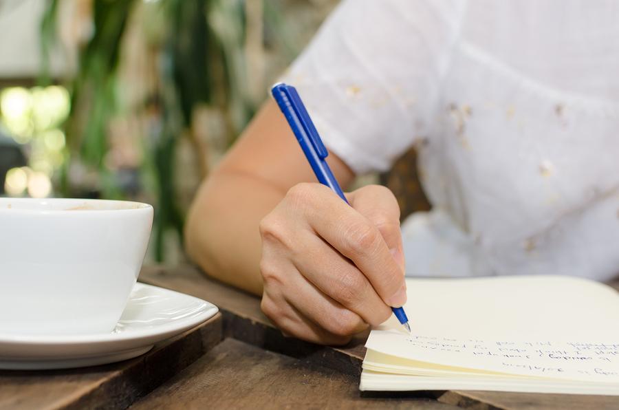 Writing diary helps