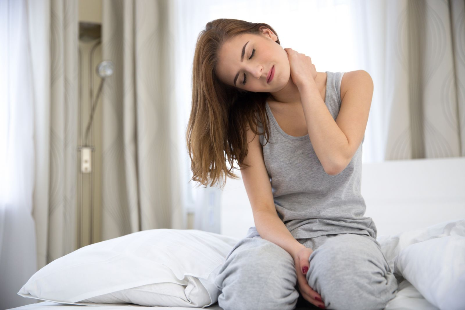 neck pain caused by pillow