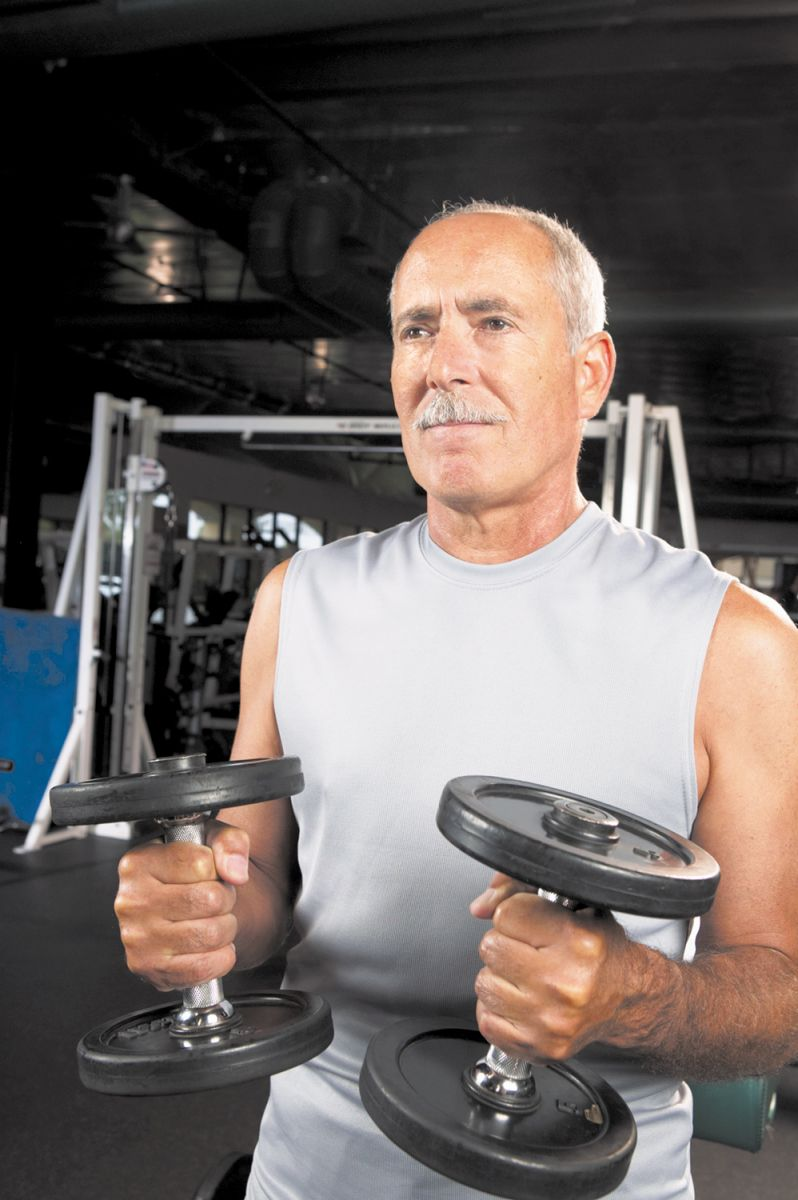 Muscle mass loss after 40