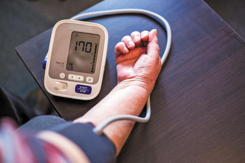 Before estimating blood pressure: