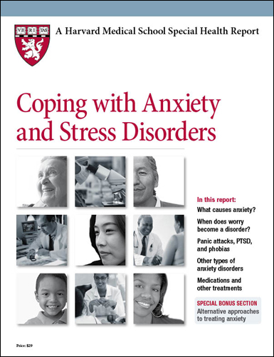 Coping with Anxiety and Stress Disorders Cover
