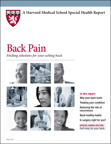 Back Pain: Finding solutions for your aching back Cover