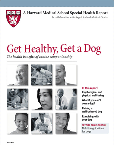Get Healthy, Get a Dog: The health benefits of canine companionship Cover