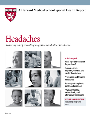 Headaches: Relieving and preventing migraines and other headaches Cover