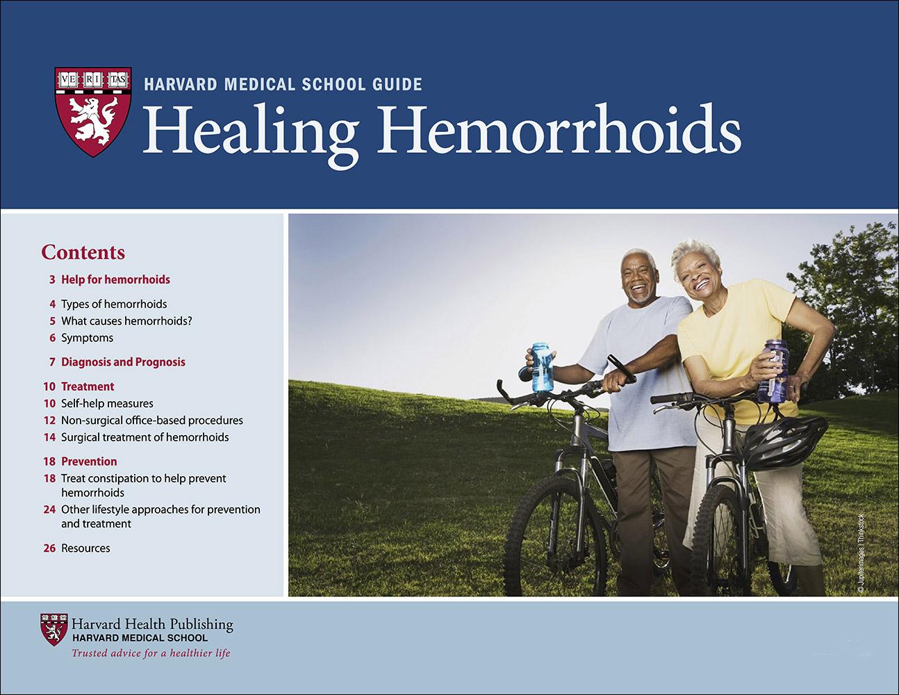 Healing Hemorrhoids Cover