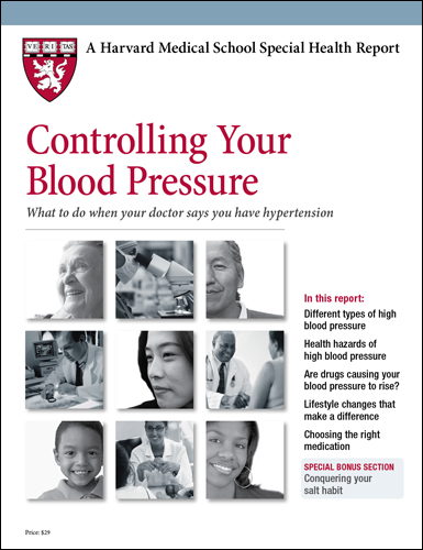 Controlling Your Blood Pressure  Cover