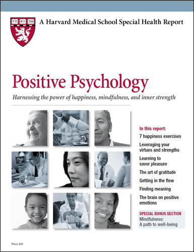 Positive Psychology: Harnessing the power of happiness, mindfulness, and inner strength Cover