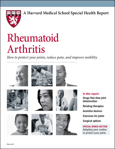 Rheumatoid Arthritis: How to protect your joints, reduce pain and improve mobility Cover