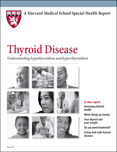 Thyroid Disease: Understanding hypothyroidism and hyperthyroidism Cover
