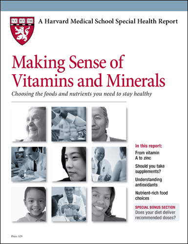 Making Sense of Vitamins and Minerals: Choosing the foods and nutrients you need to stay healthy Cover