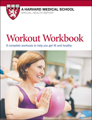 Workout Workbook: 9 complete workouts to help you get fit and healthy