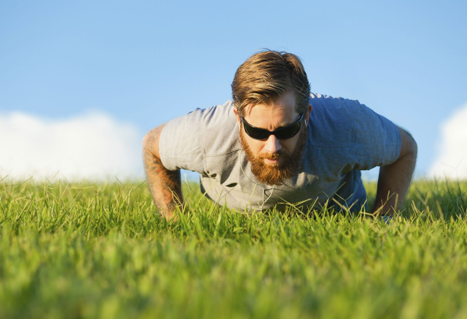 push-ups help beat aging